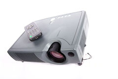 Modern projector Royalty Free Stock Image