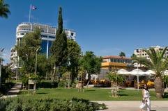 Modern promenade - Limassol, Cyprus Royalty Free Stock Photography