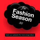 Modern promotion square web banner Fashion Season, for social media mobile apps. Elegant promo banner for online Royalty Free Stock Photo