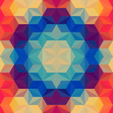Modern Psychedelic Pattern Royalty Free Stock Image