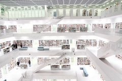 Modern public library Royalty Free Stock Photography