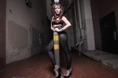 Modern punk rocker Stock Images