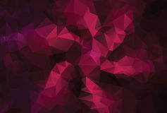 Modern Purple Polygonal Background Royalty Free Stock Images