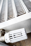 Modern radiator Stock Photos
