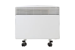 Modern radiator on wheels Royalty Free Stock Images