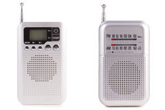 Modern radio arkivbild