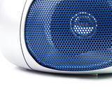 Modern radio speaker Stock Photo