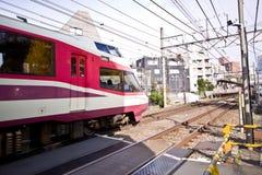 Modern Rail train tokyo Stock Photos