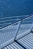 Modern Railings Royalty Free Stock Image