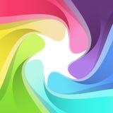 Modern rainbow semitone camera background Stock Images