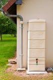 Modern rainwater tank Royalty Free Stock Photos