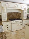 Modern range cooker Stock Photo