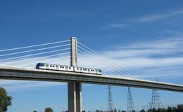 Modern Rapid Transit Stock Image