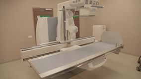 Modern x-ray system. At hospital stock video