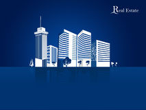 Modern real estate buildings design concept Royalty Free Stock Photo