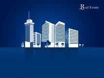 Modern real estate buildings design concept. I have Created Modern real estate buildings design concept stock illustration