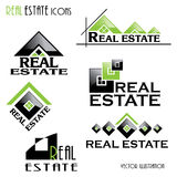 Modern Real estate icons for business design. Stock Photography