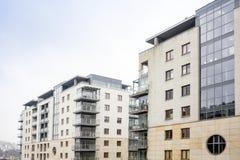 Modern real estate. Modern real estate in Krakow, Poland Royalty Free Stock Photo