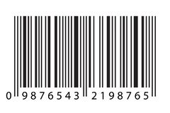 Modern Realistic Simple Flat Barcode Sign in Vector Illustration Isolated on White Background. Marketing, Internet Concept, Supermarket Buy, Mobile App Etc vector illustration
