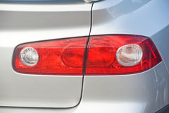 Modern rear-light cluster. An image of the rear-light cluster on a modern saloon car Royalty Free Stock Photos