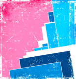 Modern rectangle background Stock Image