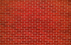 Modern red brick wall Stock Image