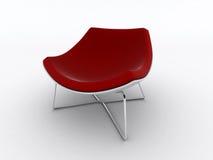 modern red för stol Royaltyfria Bilder