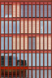 Modern Red Facade Royalty Free Stock Images