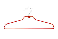 Modern red hanger Stock Images