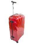 Modern Red Luggage Bag III Stock Image