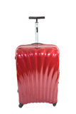 Modern Red Luggage Bag Royalty Free Stock Images
