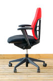 Modern red office chair Royalty Free Stock Image