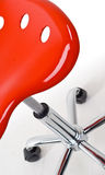 Modern Red Office Chair Royalty Free Stock Photo