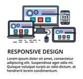 Modern redigerbar plan linje vektor av den svars- designen Arkivfoton
