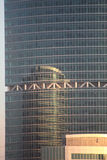 modern reflexion för byggnader royaltyfri bild