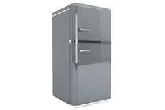 Modern refrigerator Royalty Free Stock Photos