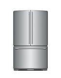 Modern refrigerator lizenzfreie abbildung