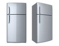 Modern refrigerator Royalty Free Stock Image