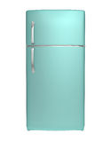 Modern refrigerator Royalty Free Stock Photography
