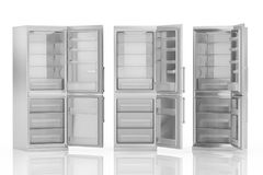 Empty refrigerator Stock Photography