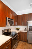 Modern Remodeled Kitchen Stock Photo
