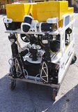 Modern remotely operated underwater vehicle , ROV Royalty Free Stock Images