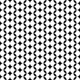 Modern repeating seamless pattern of repeat round shapes. Stylish texture. Geometric background. Vector illustration. Royalty Free Stock Image