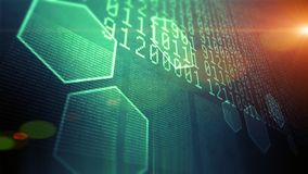 Big data and information technology Royalty Free Stock Photos