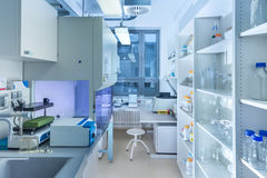 Modern research laboratory Stock Image