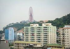 Modern residental buildings in Haiphong, Vietnam Stock Images