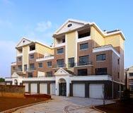 Modern residential area Royalty Free Stock Photos