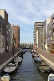 Modern residential area in Amsterdam Stock Images