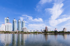 Modern residential area in Bangkok Royalty Free Stock Photography