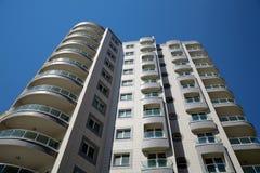 Modern residential building Stock Image